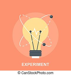 Experiment - Vector illustration of experiment flat design...