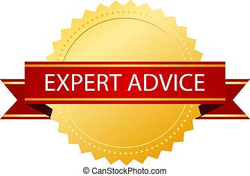 Expert advice gold seal