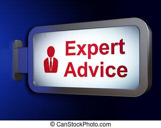 expert, business, conseil, fond, panneau affichage, droit & loi, concept:, homme