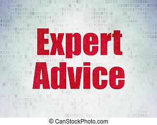 expert, conseil, papier, fond, numérique, droit & loi, données, concept: