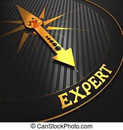 expert., empresa / negocio, fondo.