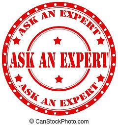 expert-stamp, pregunte