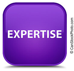 Expertise special purple square button