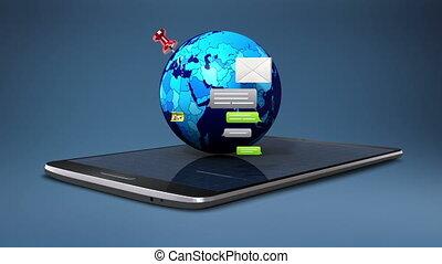 Explain various social network internet service function for...