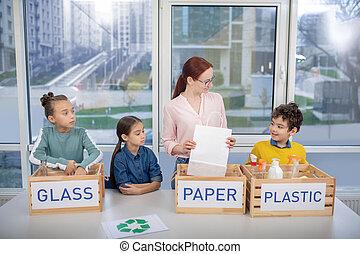 expliquer, sorte, prof, élèves, gaspillage, comment