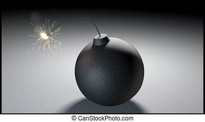 explodieren, bombe
