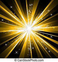 explodindo, estrela