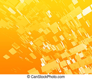 Exploding abstract - Abstract background illustration of...