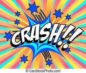 Exploding Cartoon Crash