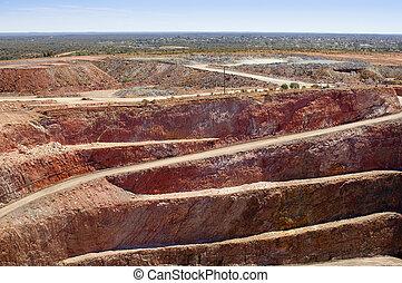 exploitation minière, australie