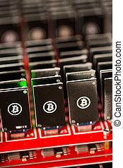 exploitation minière, bitcoin