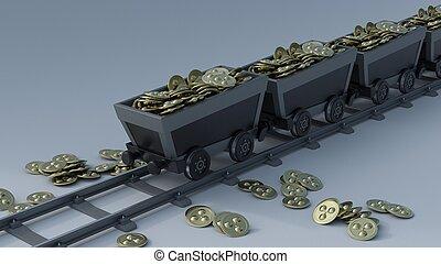 exploitation minière, crypto