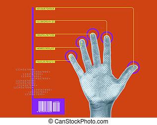 exploración, biometric