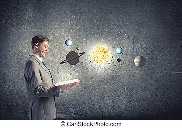 exploración, espacio