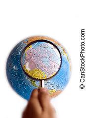 Explore Canada on World 3D Puzzle