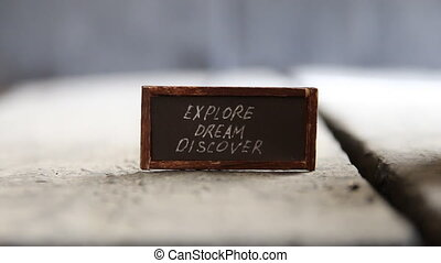 Explore Dream Discover idea - Explore Dream Discover -...