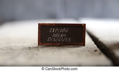 Explore Dream Discover idea - Explore Dream Discover -...