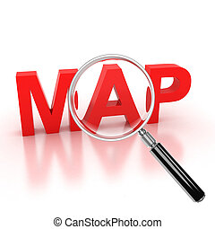 explore map icon - map