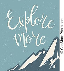 Explore more poster
