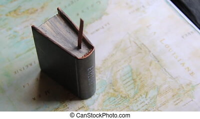 Explore or Journey idea. Map - North America by Claude...