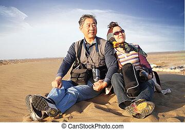 explorer, désert