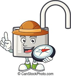 Explorer silver unlock key for security private.