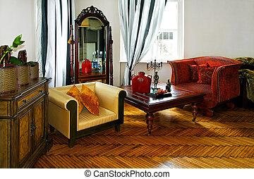 Explorer style room