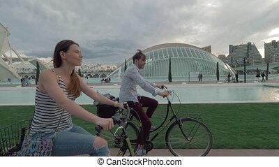 explorer, vélo, espagne, valence