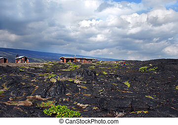 Exploring the lava field