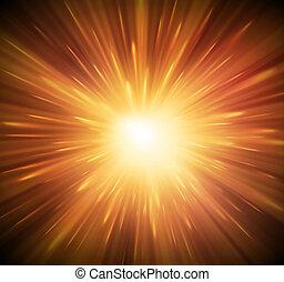 explosão, fundo