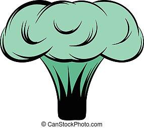 explosão nuclear, caricatura, bombardeie ícone