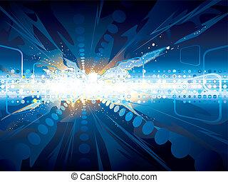 explosão, tecnologia