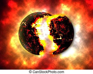 exploser, planettheory