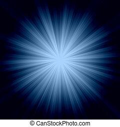 explosión del sol, plano de fondo