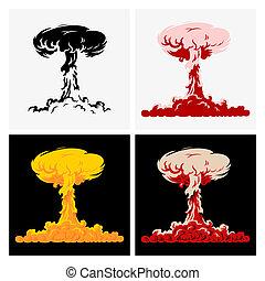 explosión nuclear