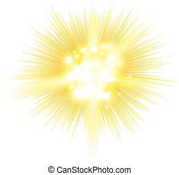 explosion, blast  symbol element vector illustration