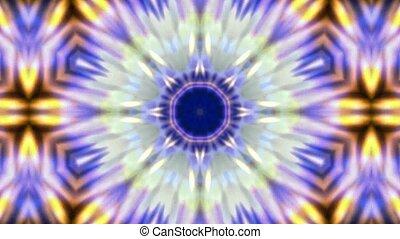 explosion budhist flower pattern