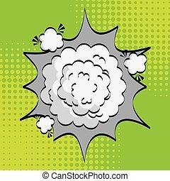 explosion comic design