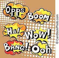 explosion Comic Speechbubble