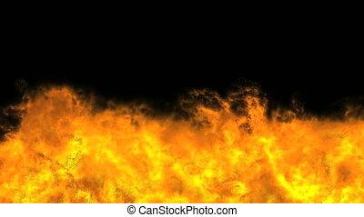 explosion fire 4k