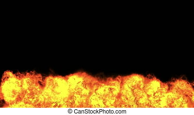 explosion fire abstract