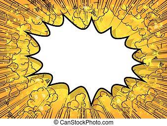 explosion, fond