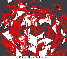 Explosion graphic design