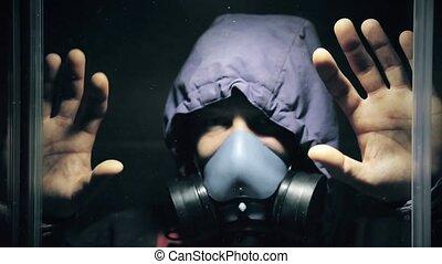 explosion, masque, après, essence, chimique, hd, dissimulation, dehors, 1920x1080, homme