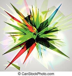 Explosion vector illustration