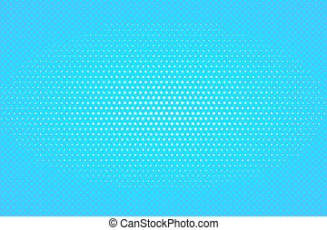Explosion vector illustration. Retro pop art background with dots. Light rays.