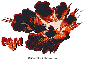 explosions., illustration., casato