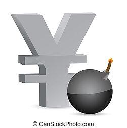 explosive yen profits symbol