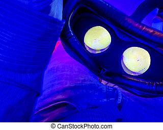 exponeringsglas 3d, in, cinema.
