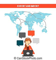 Export and import design